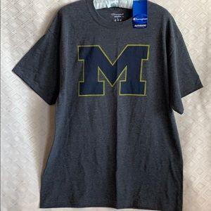 Michigan university champion T-shirt NWT